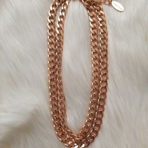 Rose Gold BaubleBar Chain Necklace
